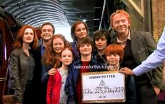 HP and the Deathly Hallows - Part 2 > Behind-the-Scenes: Epilogue at Kings Cross