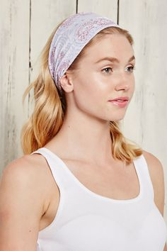 This is J Wide Bamboo Headband