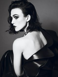 Keira Knightley for Interview Magazine.