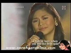 I Will Be Here- Sarah Geronimo