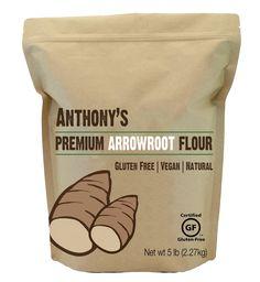 Anthony's Arrowroot Powder (Flour), Certified Gluten-Free