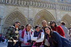 Alumnos de Turismo de 9no. cuatrimestre de viaje por Europa. ¡Felicidades chicos! +info.: Tel. (833) 230 3830 Une Tampico, México #UneTampico