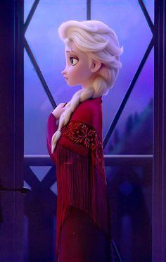 Elsa with Iduna's scarf