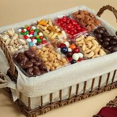 Sweets & Nuts gift basket                                                                                                                                                                                 More