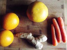 Spring to Fall: Personal: Lisa's Juicer (citrus-carrot-ginger juice: oranges, grapefruit, carrots, ginger)