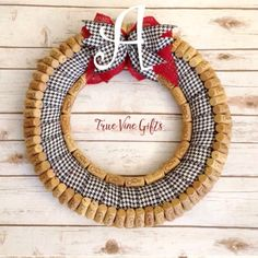 A personal favorite from my Etsy shop https://www.etsy.com/listing/258686966/roll-tide-wine-cork-wreath