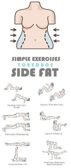 How to Get Rid of Side Fat and Love Handles Fast At Home. Try these Exercises for Side Fat Today and Lose 10 Pounds in 2 weeks. #lose15poundsin2weeksfast by angelina