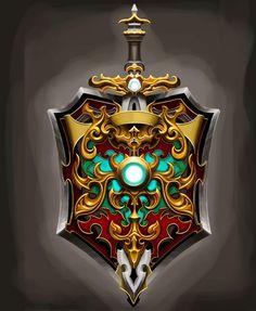 Heaven's sword, Santosh S Fantasy Wizard, Fantasy Art, Game Concept, Concept Art, Eagle Wallpaper, Game Textures, Game Ui Design, Game Props, 3d Texture
