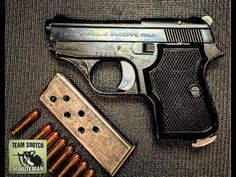 22 Pistol, Pocket Pistol, Hidden Gun, Weapon Concept Art, Leather Holster, Cool Guns, Hand Guns, Guns And Ammo, Shotgun