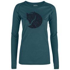 7a601c1d707398 Fjällräven Abisko Trail T-Shirt Printed LS W Funktionsshirt