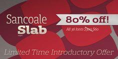 Sancoale Slab™ - Webfont & Desktop font « MyFonts