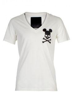 Philipp Plein - 'Mousy' T-Shirt White Front (SS14-HM341123)