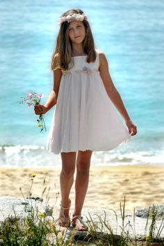 www.quadromania.es White Dress, Bohemian, Summer Dresses, Madrid, Style, Fashion, Latest Fashion, Child Fashion, Clothes For Girls