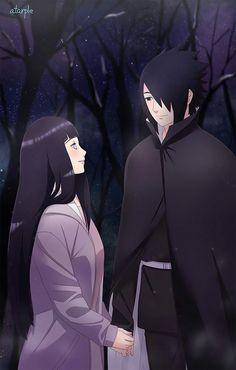 Sasuke e Hinata (SasuHina) Naruto And Hinata, Hinata Hyuga, Anime Naruto, Boruto, Shikatema, Sasuhina, Narusaku, Sasunaru, Sakura Uchiha