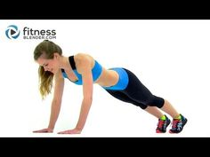 ▶ Cardio, Abs & Butt Workout - Fitness Blender's Red Light Green Light Workout - YouTube (25 min)
