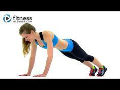 ▶ Cardio, Abs & Butt Workout - Fitness Blender's Red Light Green Light Workout - YouTube (25 min)