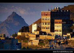 Manakha, Harraz mountains, Yemen