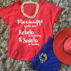 Mississippi girls are Rebels on Saturday and Saints on Sunday
