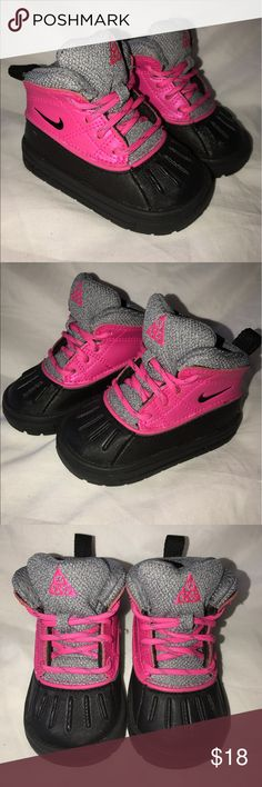 New Baby Girl Nike Boots Never worn! Nike Shoes Boots