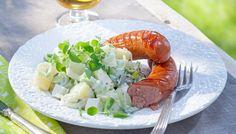 Kreikkalainen peruna-tsatsikisalaatti - K-ruoka