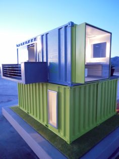 Amazing Container Tiny House Ideas that For Comfortable Life – Decor & Gardening Ideas Cargo Container Homes, Container Shop, Container Cabin, Container House Plans, Container House Design, Container Gardening, Container Architecture, Container Buildings, Architecture Design
