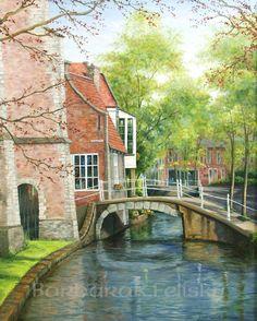 Barbara R. Felisky - Delft canal bridge
