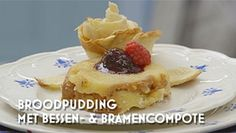 Heel Holland Bakt: Broodpudding van brioche