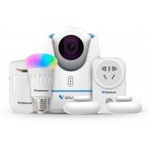 Vstarcam E27 1080p Night Vision Wifi Ip Camera Set Smart Home Security Ip Camera Smart Home