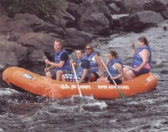 Went on a white water raft trip with our family in the '70's at Jim Thorpe, on the Lehigh River