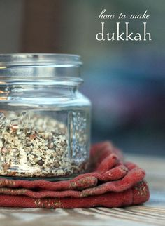 How to make Dukkah, an Egyptian Spice Blend