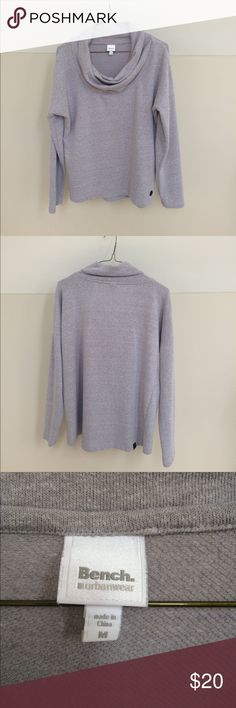 Bench Women's Cowl Neck Pullover Extremely soft women's Bench Urbanwear cowl neck pull over. It is very soft and was never worn. Bench Sweaters Cowl & Turtlenecks