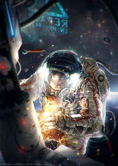 How to Illustrate an Astronaut in Photoshop – Design & Illustration – Tuts+ Tutorials