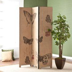 Wildon Home ® Vasilis Vintage Butterfly Room Divider
