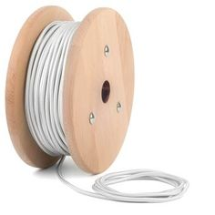 Kábel dvojžilový v podobe textilnej šnúry neponúka len možnosť prínosu elektriny do Vášho osvetlovacieho zariadenia, ale dodáva aj historický funky vzhľad