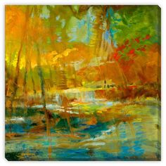 Gallery Direct Sylvia Angeli's 'Late Summer's Expectation I' Canvas Gallery Wrap Wall Art