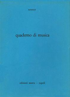 Sarenco, Quaderno di musica, Edizioni Morra, Napoli, 1986
