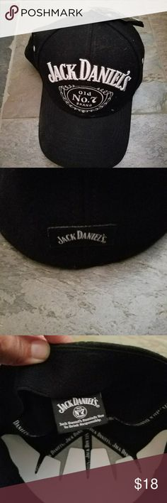 Jack Daniel's hat New w tags Black Jack Daniel's hat. Other