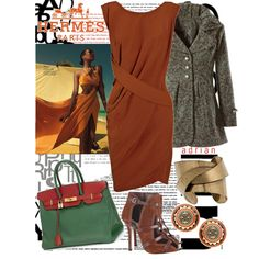 Hermes by snappychic on Polyvore featuring мода, Narciso Rodriguez, Camilla Skovgaard, Chanel and Hermès