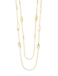 Long Double Stranded Necklace from THELIMITED.com