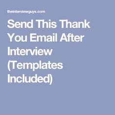phone interview thank you letter career pinterest letter