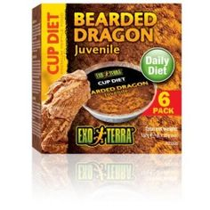 Cup diet for Bearded Dragons.
