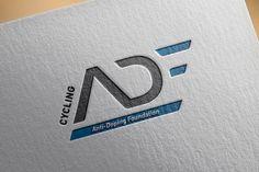 Logo ADF by Creads Cv Inspiration, Inspiration Logo Design, Corporate Design, Branding Design, Data Logo, Logo Ad, Business Names, Business Logo, Trade Logo