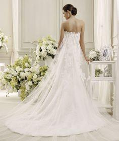 Abito da Sposa NIAB14018IV collezione NICOLE 2014, Nicole Spose  weddingbrand.com