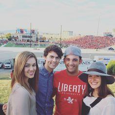 "Korie Robertson on Instagram: ""Fun times @libertyuniversity Love these kiddos """