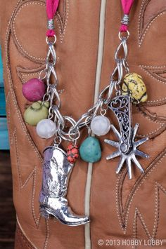 Kick up your heels and show off your love of all things country with Western-themed silver jewelry.