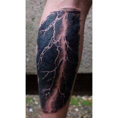 Tattoo Realistic Lightning Tattoo Lightning Storm Tattoo Clou Pictures ...