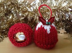 Ferrero Rocher Christmas Pudding, tree hanging decoration