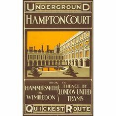 Hampton Court - unknown artist (1909)