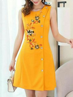A Line Prom Dresses, Cute Dresses, Pretty Black Dresses, Yellow Clothes, Glamorous Outfits, Dress Indian Style, Latest African Fashion Dresses, Dress Sewing Patterns, Saree Blouse Designs