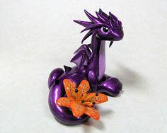 Tiger Lily Dragon by DragonsAndBeasties